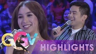 Video GGV: JoshLia asks questions to KathNiel, JaDine and LizQuen MP3, 3GP, MP4, WEBM, AVI, FLV Agustus 2018