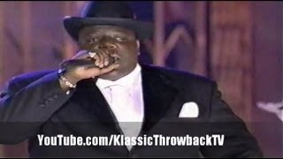 "Notorious B.I.G. ""One More Chance/Get Money"" Live (1996)"
