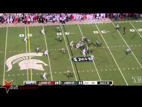 Connor Cook vs Ohio St. 2014 video.