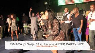 TIMAYA performing live @ ANNUAL 9JA INDEPENDENCE DAY PARADE ** AFTER PARTY **NYC p4