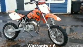 6. 2006 KTM 50 Adventure Senior - Specification