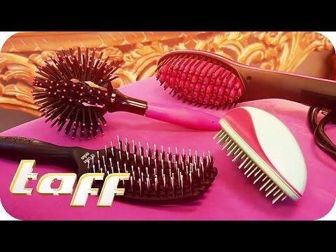 Hightech-Haarbürsten im Test: Halten sie, was sie versprechen? | taff | ProSieben