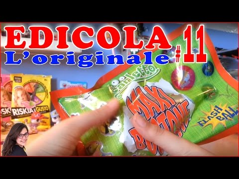 Edicola #11: Maxi bustone figurine 3D (Carletto) & Wild Baby Animal (видео)