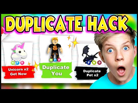 How To DUPLICATE in Adopt Me!! WORKING TIK TOK HACKS!! Can We Duplicate Our Pets Too? PREZLEY