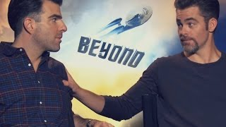 Best of Zachary Quinto & Chris Pine - 2016 edition (Star Trek Beyond cast)