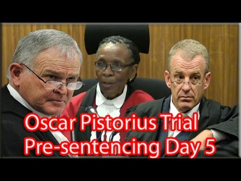 Arguments - Final arguments for sentencing in the trial of paralympian Oscar Pistorius heard at the North Gauteng High Court on Friday.