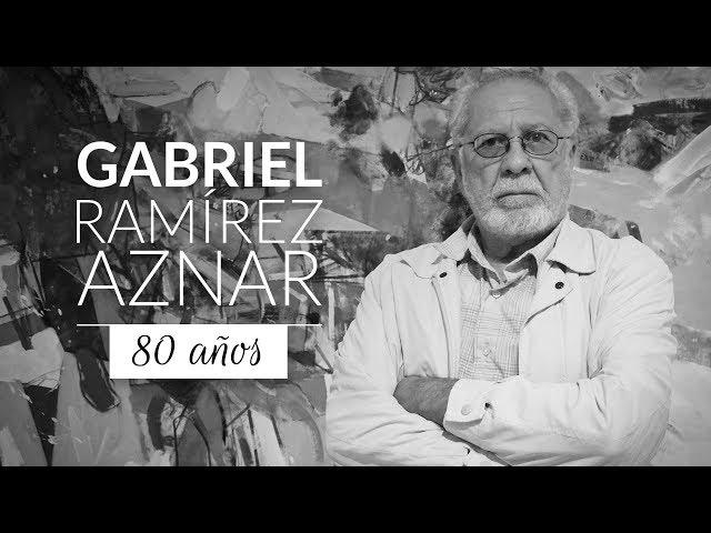 Gabriel Ramírez  Aznar 80 años