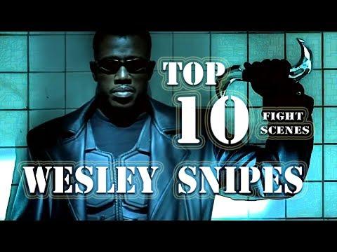 Top 10: Wesley Snipes Fight Scenes (Martial Arts)