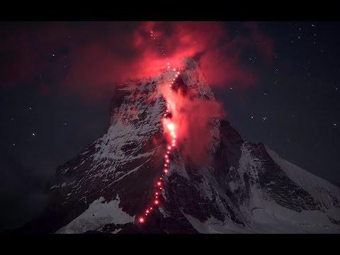 VIDEO: Krása hory Matterhorn zachycena na videu i na fotografiích