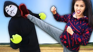 VY QWAINT vs HACKER in REAL LIFE SPY NINJA BATTLE ROYALE (Searching Project Zorgo Abandoned Riddles)