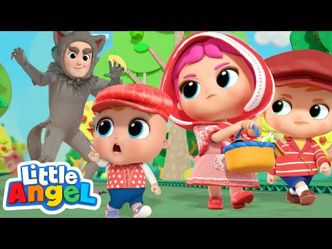 Little Red Riding Hood | Classic Stories for Kids | Little Angel Kids Songs & Nursery Rhymes