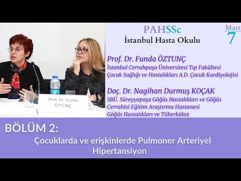 PAHSSc İstanbul Hasta Okulu - Bölüm 2 - Çocuklarda ve Erişkinlerde PAH - 07.03.2020
