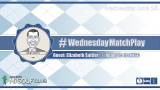 #WednesdayMatchPlay with Adam Scott's Mi Golf Club