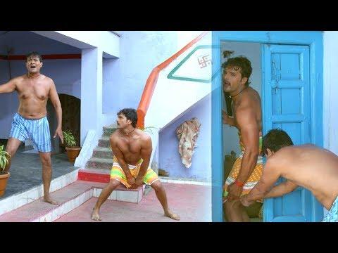 Video खेसारी लाल Comedy Scene - Bhojpuri Comedy Scene - Dilwala Movie Uncut Scene download in MP3, 3GP, MP4, WEBM, AVI, FLV January 2017