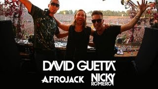 David Guetta vs Afrojack vs Nicky Romero - Live at Tomorrowland 2013 - YouTube