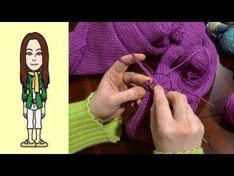 RVO Raglan von oben Pullover stricken mit V-Ausschnitt (Teil 10 von 12)