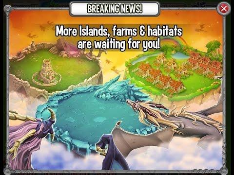 Dragon City - Atualizações (24/07) e Novas Ilhas