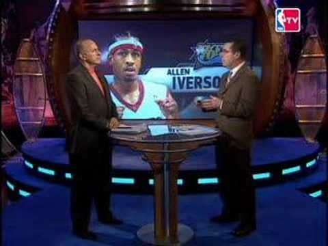 Allen Iverson was trade to DN