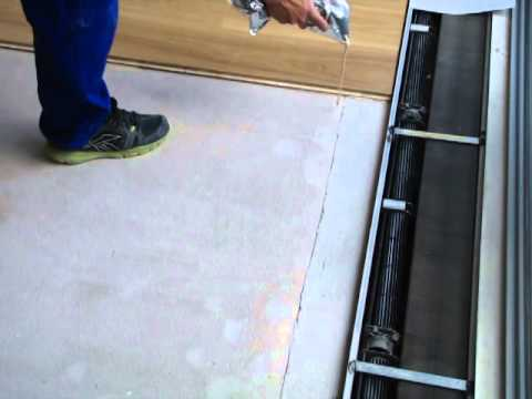 Pokládka plovoucí podlahy lepením - 2.díl