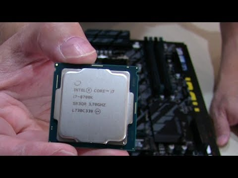 Ultimate Gaming PC Build with Intel Coffee Lake Core i7-8700K - PART 2