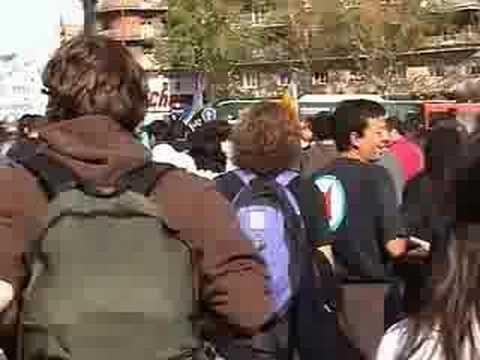Video de imágenes de la COnfederación General del Trabajo (CGT) en distintas luchas.