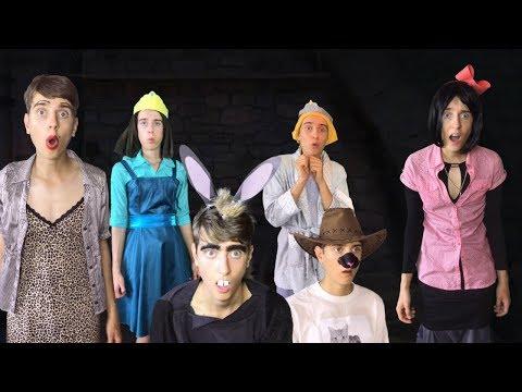 Shrek the Third (2007) - Princess Prisoners Scene (REMAKE)