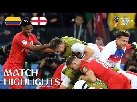 בפנדלים: אנגליה ניצחה את קולומביה 3:4