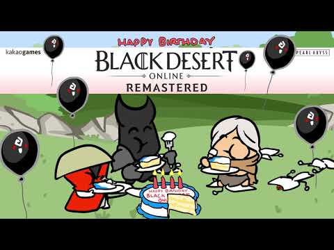 Black Desert Online 4th Anniversary - Cartoon Parody