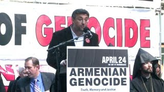 Interview with Dr. Umit Kurt at 101th Commemoration of Armenian Genocide in NY 2016