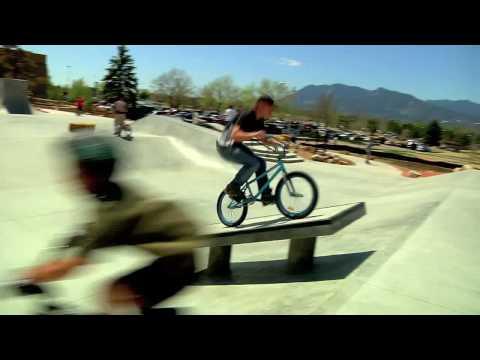 BMX Session at Memorial Skatepark 5/8/2009
