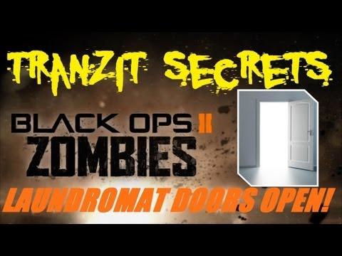 Tranzit Zombies Secrets: BOTH Laundromat Doors OPEN!