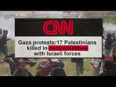 FakeNews Media Caught Lying about Gaza Palestinians March