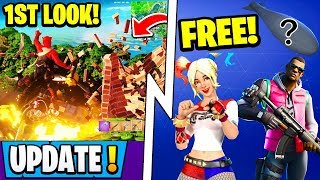 *NEW* Fortnite 11.50 Update Tonight! | Chaos Engine 1st Look, Free Rewards Now, Event!