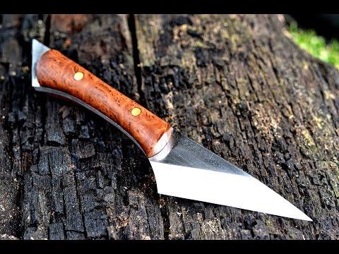 Knife making – making a Japanese Kiridashi utility knife