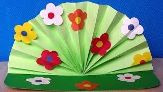 Цветы с цветной бумаги своими руками