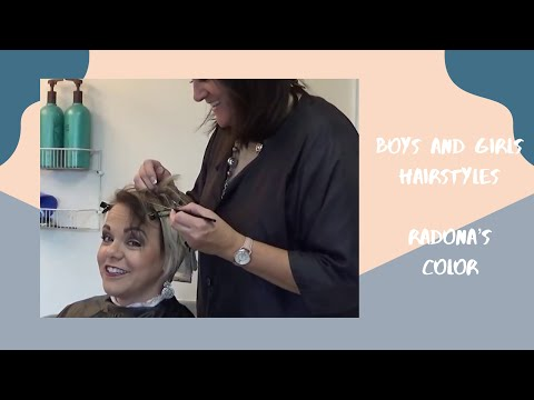 Hairdresser - Radona's Hair Style and  Hairstyle Color