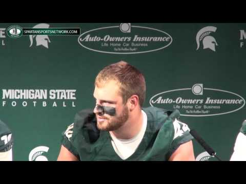 Connor Cook Interview 10/4/2014 video.