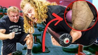 Video FORCE YOUR LEGS TO GROW BIGGER (couldn't walk after) MP3, 3GP, MP4, WEBM, AVI, FLV November 2018