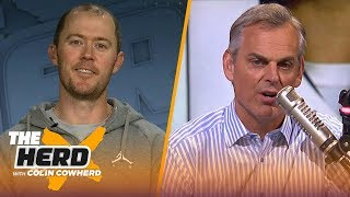 Lincoln Riley on why Kyler Murray should go 1st in Draft, Baker Mayfield's success   NFL   THE HER by Colin Cowherd