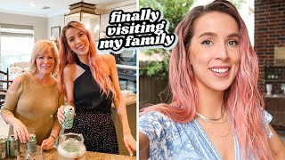 FINALLY VISITING MY FAMILY + IUI UPDATE | leighannvlogs by Leigh Ann Says