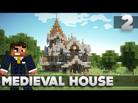 Minecraft Tutorials – Small Survival Medieval House Ep. 2 XBOX 360/PS3/PE/PC