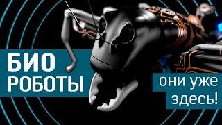Биороботы: подсмотрели у природы -10 бионических существ от Geek to the Future - бионика и роботыПочему роботы должны быть похожи на нас? Наука бионика считает, что у некоторых из окружающих нас на планете существ имеются более эффективные способы перемещения в пространстве. Мы расскажем о 10 наиболее интересных биороботах, разработанных в последнее время…+++++++++++++++Любите не только смотреть видео, но и читать умные тексты? Узнайте больше о биороботах на портале http://www.wasabitv.ru/+++++++++++++++Возрастное ограничение: 0++++++++++++++++Биомиметические роботы (биороботы)— это устройства, которые имитируют движения реальных существ. Такие роботы смогут помочь человеку в самых разных ситуациях...Stickybot (Стикибот)прототип: гекконыЭтот робот может забираться вверх по отвесной, гладкой поверхности —его конечности имеют покрытие схожее с тем, которое имеется на лапках геккона. SCAMP (Скэмп)прототип: богомолыЕсть у Стикибота и родственник —напоминающего богомола Скэмпа разработала та же группа исследователей. Этот дрон-гибрид может карабкаться по стенам, летать и точно приземляться.MAV (Мэв)прототип: стрижиЭта конструкция была создана в германском Центре инноваций в области биомиметики. Разработчики миниатюрного летательного аппарата смогли изготовить искусственное машущее крыло...Uncle Sam (Анкл Сэм)прототип: змеиЗмееподобного робота «Дядюшку Сэма» разработали в Лаборатории биоробототехники Университета Карнеги-Меллон. Shoal Project (Проект «Шоул»)прототип: рыбыИнвестиции Евросоюза в проект «Шоул» привели к созданию полутораметровой роботизированной рыбины, способной наблюдать за загрязнением водной среды в режиме реального времени.CRAM (Крэм)прототип: тараканыРазмером в пол-ладони этот робот, созданный в Калифорнийском университете в Беркли, не боится быть раздавленным...U-CAT (Ю-кэт)прототип: черепахиЮ-кэт —разработка Таллиннского технического университета — специализируется на морской археологии.Эстонцам удалось создать полностью автономного робота, чьи силик