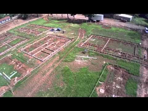 Construção Escola Municipal Raio de Luar em Ouro Verde de Goias
