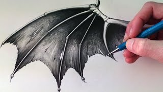 Video How to Draw a Demon Wing MP3, 3GP, MP4, WEBM, AVI, FLV Juni 2018