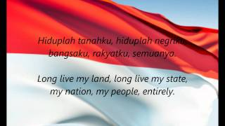 "Video Indonesian National Anthem - ""Indonesia Raya"" (ID/EN) MP3, 3GP, MP4, WEBM, AVI, FLV Juli 2018"
