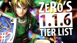 Super Smash Bros Wii U – Tier List (1.1.6) – Low Tier – ZeRo