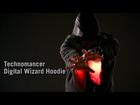 Wizard - http://www.thinkgeek.com/14d5?cpg=yt -Hoodie for spellcasters -A ThinkGeek creation and exclusive! -Light and sound effects powered by a speaker box and 32 b...