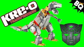 Transformers Grimlock Unleashed Kre-O Review
