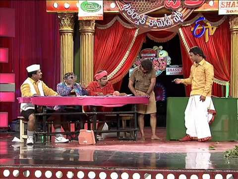 Jabardasth  Adhire Abhinay Performance on 24th April 2014