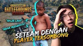 SETIM DENGAN PLAYER TERSOMBONG PARAH!! - PUBG Mobile Indonesia